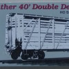 Proto 2000 Series Mather 40 ft  Double Decker Stock Car in box as new